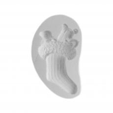 Силиконовый молд Рождественский носок 5,5х9 см
