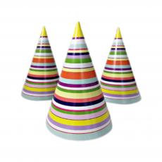 Праздничный колпак разноцветный 20 шт