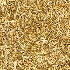 Декоративная посыпка Вермишель золотая 100 гр