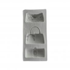 Силиконовый молд Набор сумочек №2 4.5x10 см