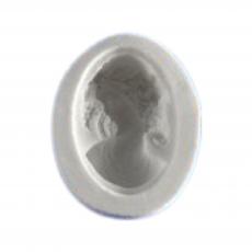 Силиконовый молд камея женщина