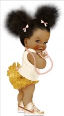 Вафельная картинка A4 Ту Ту куклы 2