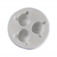 Силиконовый молд набор мордочки мишек