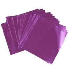 Фольга для конфет 8x8 см Фиолетовая 100 шт