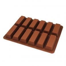 Силиконовая форма Шоколадные батончики 8.5х3.5 см