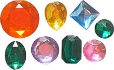 Силиконовый молд драгоценные камни 2