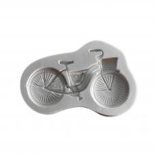 Силиконовый молд Велосипед 9х6 см