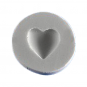 Силиконовый молд сердце 1