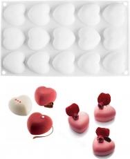 Силіконова форма для десертів Amorini mini 4.5х5х2.5 см