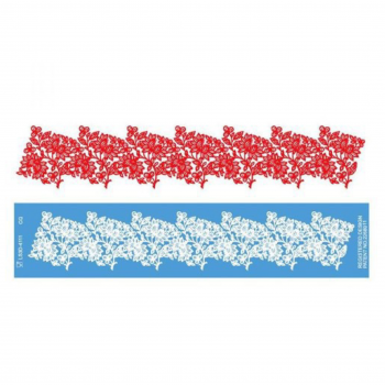 Силиконовый коврик/мат для гибкого айсинга узор №2