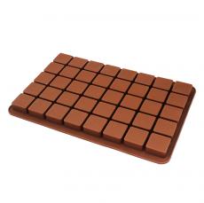 Силиконовая форма 40 Кубиков 3.5х3.5х1.5 см