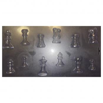 Пластиковая форма для шоколада  Шахматы 3Д