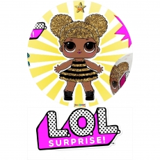 Вафельная картинка A4 Куклы LOL 10