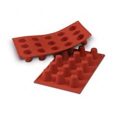 Силиконовая форма для десертов Ромовая баба мини 3.5х3.8 см