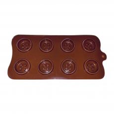 Силиконовая форма для шоколада Пуговички