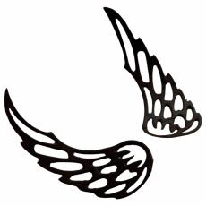 Трафареты для шоколада Крылья 1