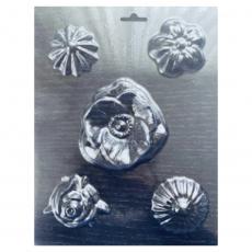 Форма пластиковая для шоколада Цветы 18х23 см