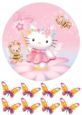 Вафельная картинка A4 Hello Kitty