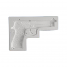 Силиконовый молд Пистолет 10.5х7.5 см