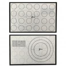 Силиконовый коврик двусторонний со стекловолокном 28.5х42 см