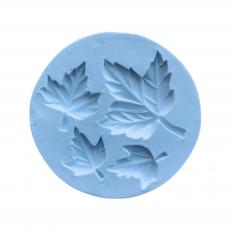 Силиконовый молд Набор листиков №4 6.5x6.5 см