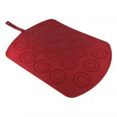 Коврик силиконовый двусторонний для выпечки макаронс
