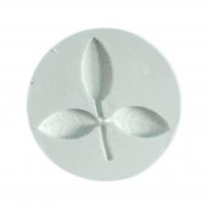 Силиконовый молд Листик розы 5.5х5.5 см