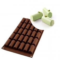Силиконовая форма для десертов Mini Buche 4.5х2.3 см