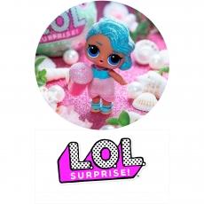 Вафельная картинка A4 Куклы LOL 9