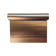 Шпатель-резак кондитерский металлический 15 см