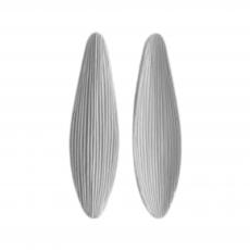 Силиконовый вайнер молд лист Кукурузы №2 3.5Х12.5 см
