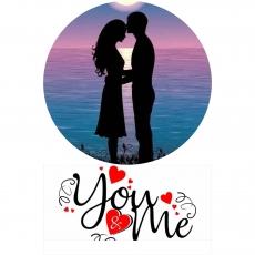 Вафельная картинка A4 День святого Валентина №10
