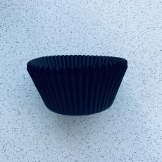Тарталетки для кексов Чёрные 50 шт Италия