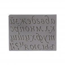 Силиконовый молд Русский алфавит (прописные буквы) 16x12 см