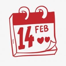 Вафельная картинка A4 День святого Валентина №24