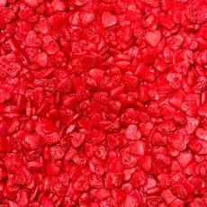 Декоративная посыпка Сердца красные 100 гр