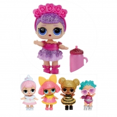 Вафельная картинка A4 Куклы LOL 8