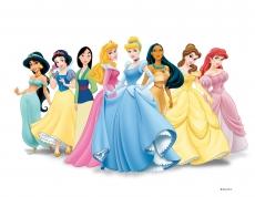 Вафельная картинка A4 Принцессы Диснея 5