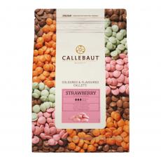 Barry Callebaut белый шоколад клубничный 250 гр Бельгия развес
