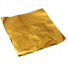 Фольга для конфет 8x8 см Золото 100 шт