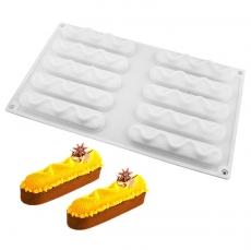 Форма силиконовая для десертов Евро-эклеры 11х2 см