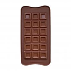 Форма силиконовая для шоколада Большая плитка классика