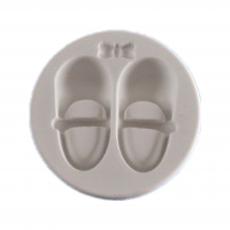 Силиконовый молд Детские сандалики 7.5x7.5 см