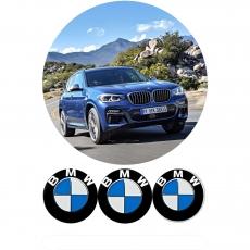 Вафельная картинка A4 BMW