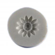 Силиконовый молд Ромашка смайл 3.2x3.2 см