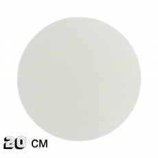 Подложка под торт белая ДВП 20 см 3 мм