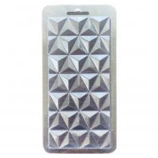 Пластиковая форма для шоколада Плитка №2 8.5х17.5 см