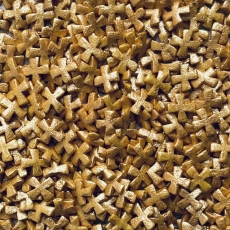 Драже Крестики золото 5 мм 50 гр