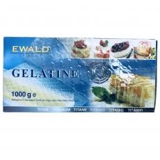 Листовой желатин Ewald Gelatine 1 кг