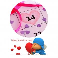 Вафельная картинка A4 День святого Валентина №15